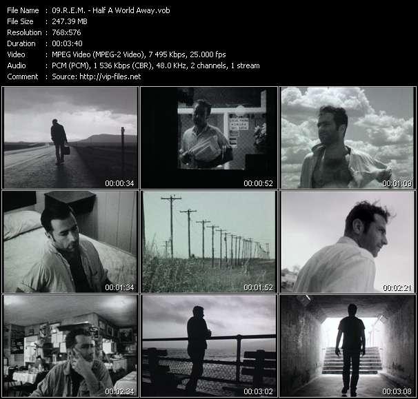 R.E.M. video - Half A World Away