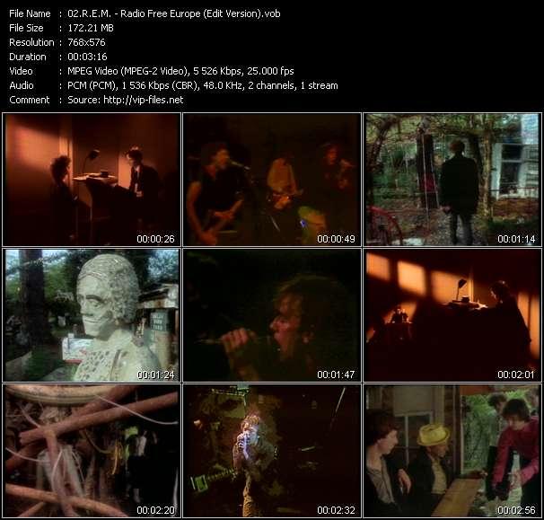 R.E.M. video - Radio Free Europe (Edit Version)