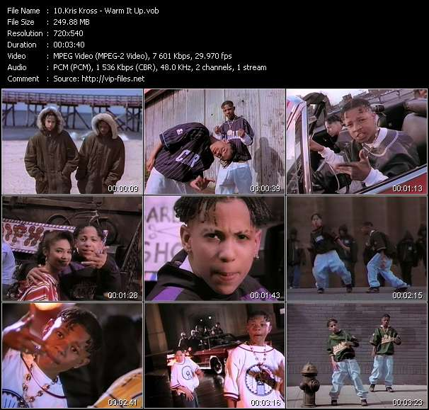 Kris Kross HQ Videoclip «Warm It Up»