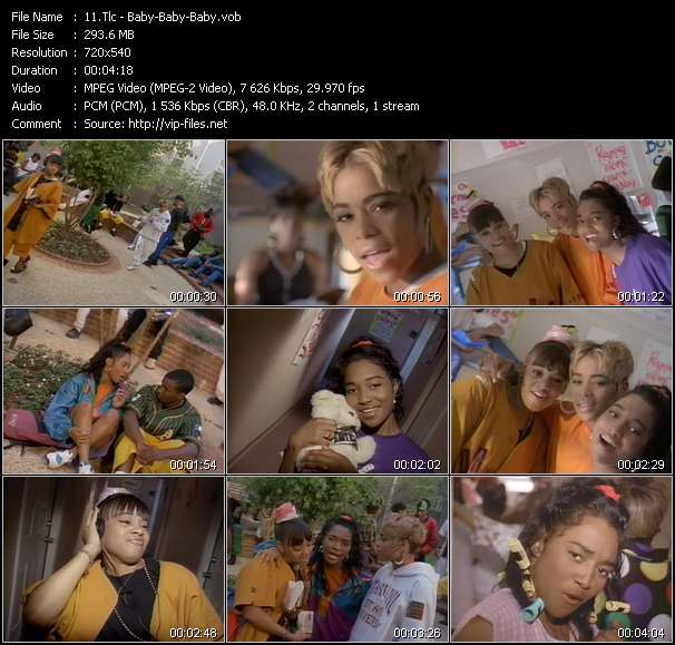 Tlc video - Baby-Baby-Baby