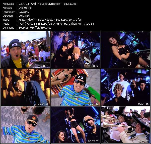 A.L.T. And The Lost Civilization music video Filejoker