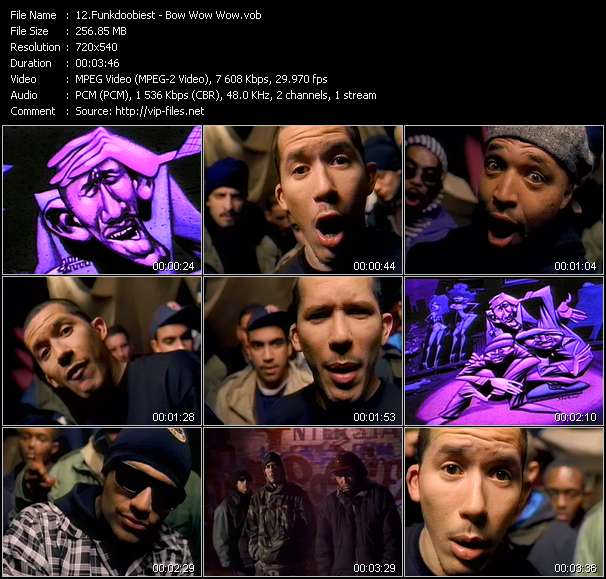Funkdoobiest video - Bow Wow Wow