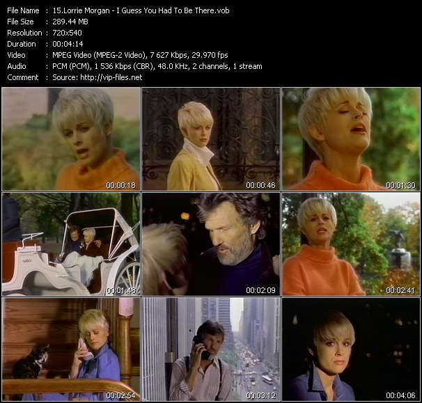 Lorrie Morgan HQ Videoclip «I Guess You Had To Be There»