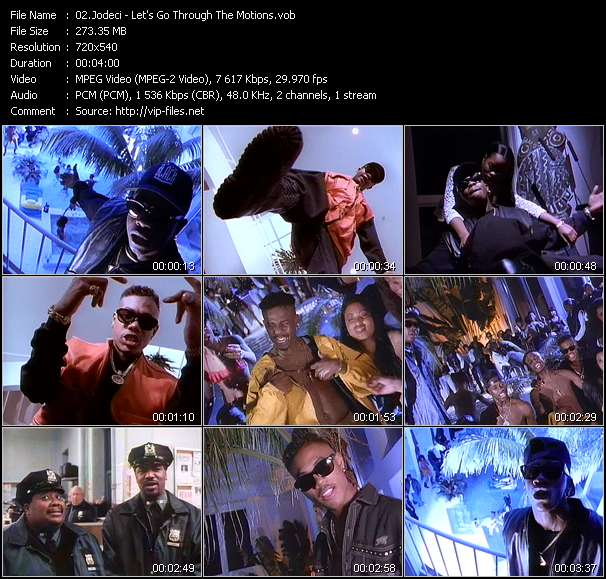 "Jodeci video - Let's Go Through The Motions (From ""Who's The Man?"")"