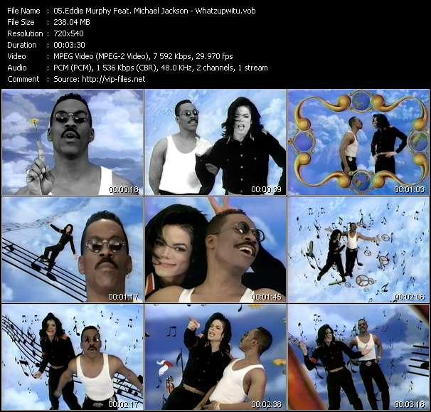 Eddie Murphy Feat. Michael Jackson video - Whatzupwitu