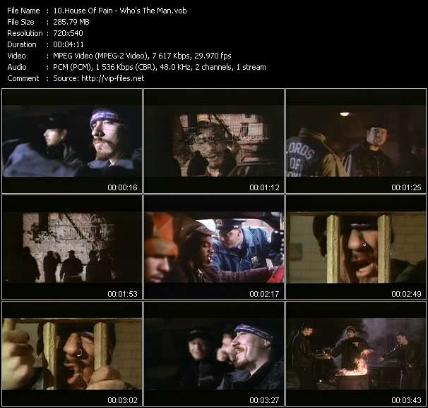 "House Of Pain video - Who's The Man? (From ""Who's The Man?"")"