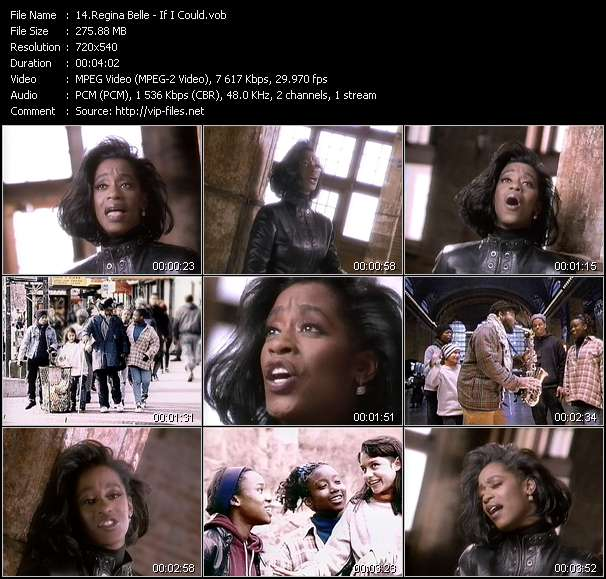 Regina Belle video - If I Could