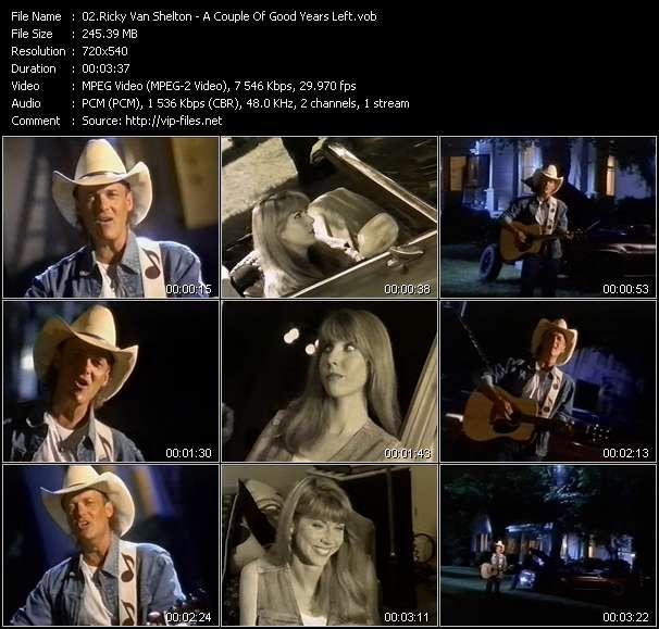 Ricky Van Shelton HQ Videoclip «A Couple Of Good Years Left»