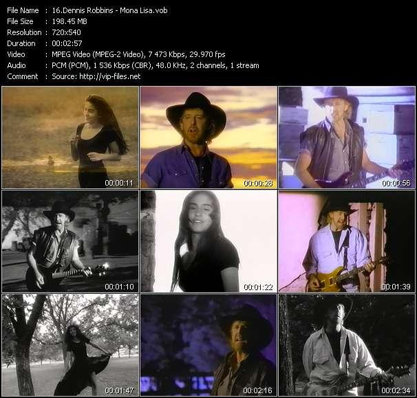 Dennis Robbins HQ Videoclip «Mona Lisa»