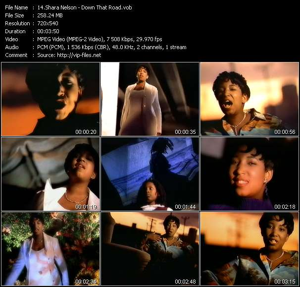 Shara Nelson HQ Videoclip «Down That Road»