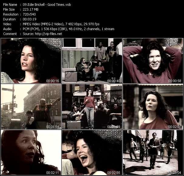 Edie Brickell HQ Videoclip «Good Times»