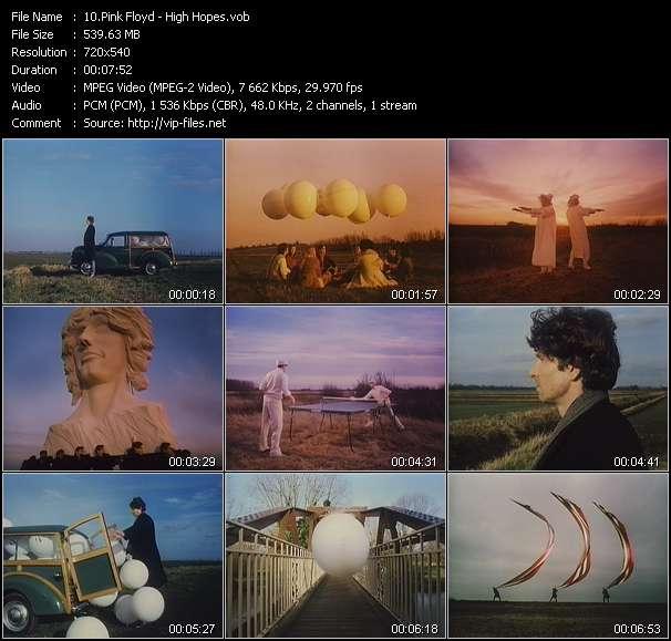 Pink Floyd HQ Videoclip «High Hopes»