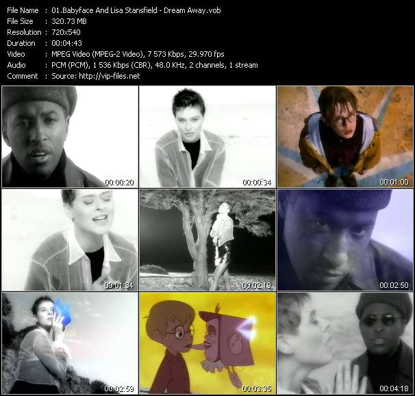 """Babyface And Lisa Stansfield HQ Videoclip «Dream Away (From """"The Pagemaster"""")»"""