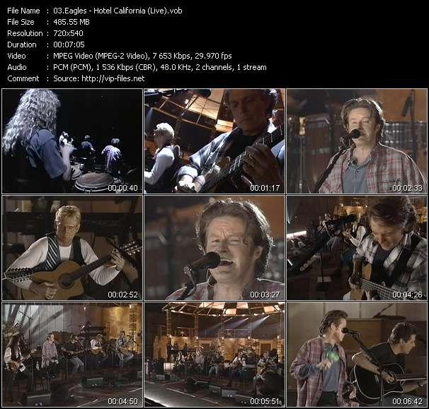 Eagles HQ Videoclip «Hotel California (Live)»