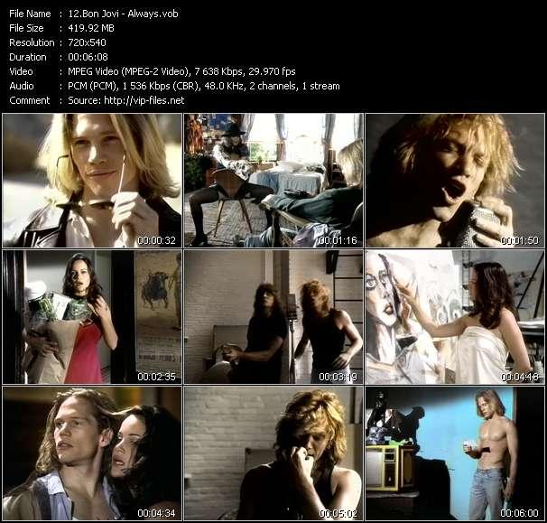 Bon Jovi HQ Videoclip «Always»