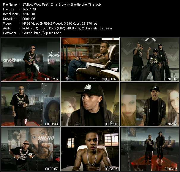 Bow Wow Feat. Chris Brown HQ Videoclip «Shortie Like Mine»