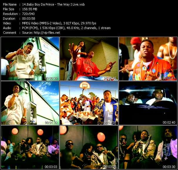 Baby Boy Da Prince video - The Way I Live