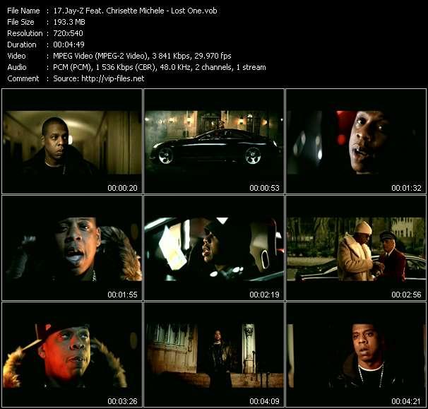 Jay-Z Feat. Chrisette Michele video - Lost One