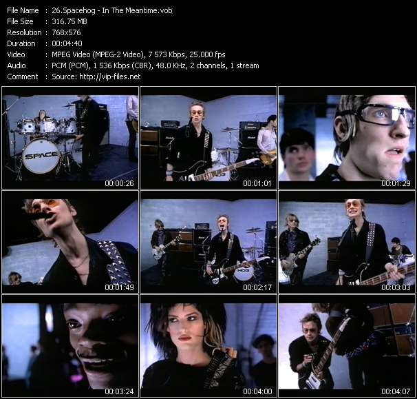 Spacehog video - In The Meantime