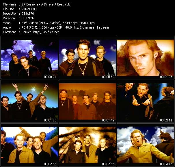 Boyzone video - A Different Beat