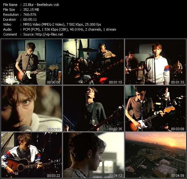Blur HQ Videoclip «Beetlebum»