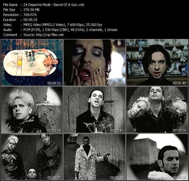 Depeche Mode HQ Videoclip «Barrel Of A Gun»