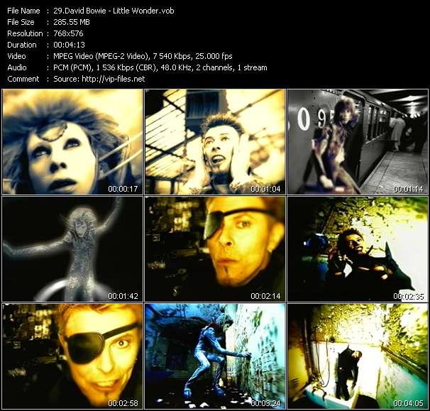 David Bowie HQ Videoclip «Little Wonder»