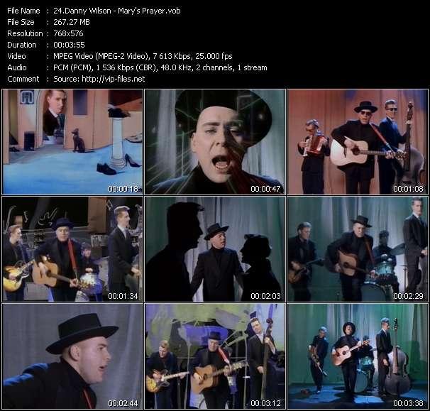 Danny Wilson HQ Videoclip «Mary's Prayer»