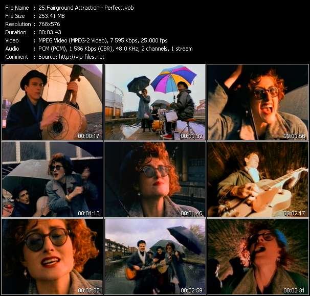 Fairground Attraction music video Publish2