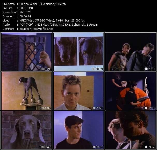 New Order HQ Videoclip «Blue Monday '88»
