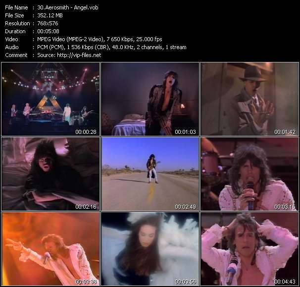 Aerosmith video - Angel