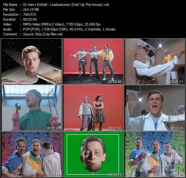 Harry Enfield HQ Videoclip «Loadsamoney (Doin' Up The House)»