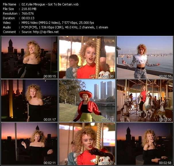 Kylie Minogue HQ Videoclip «Got To Be Certain»