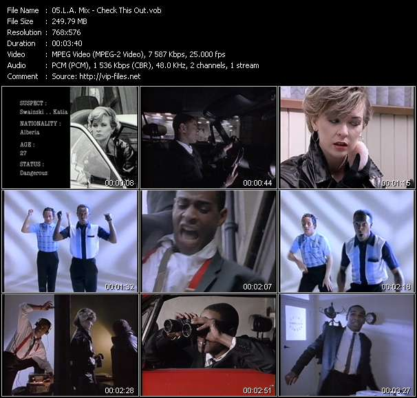 L.A. Mix HQ Videoclip «Check This Out»