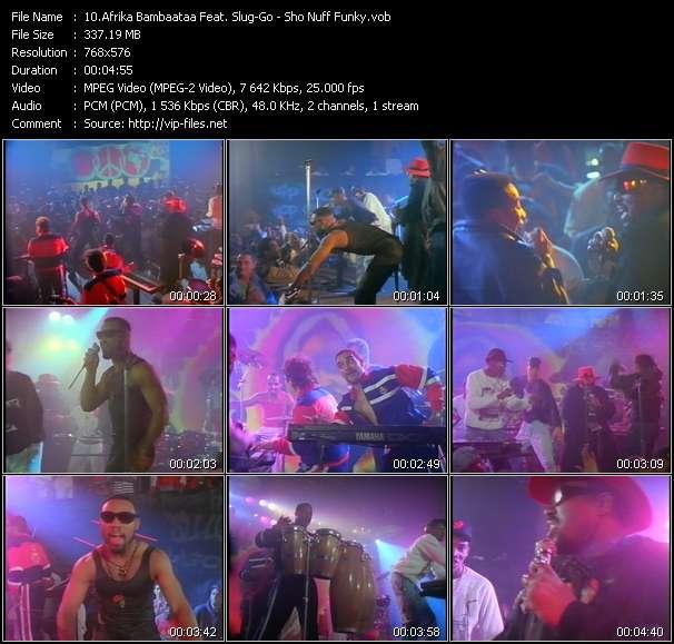 Afrika Bambaataa Feat. Slug-Go HQ Videoclip «Sho Nuff Funky»