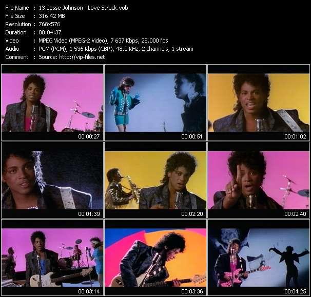 Jesse Johnson HQ Videoclip «Love Struck»