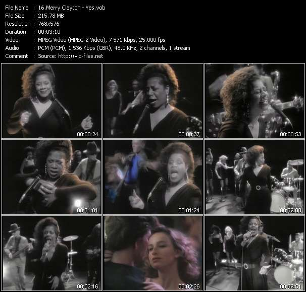 Merry Clayton HQ Videoclip «Yes»