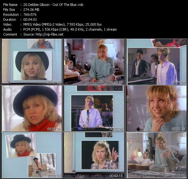 Debbie Gibson HQ Videoclip «Out Of The Blue»