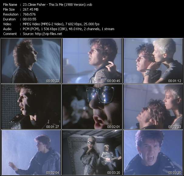 Climie Fisher HQ Videoclip «This Is Me (1988 Version)»