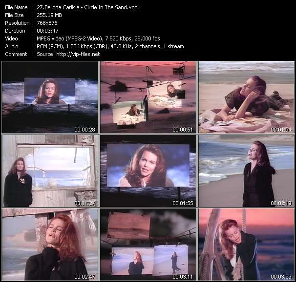 Belinda Carlisle HQ Videoclip «Circle In The Sand»
