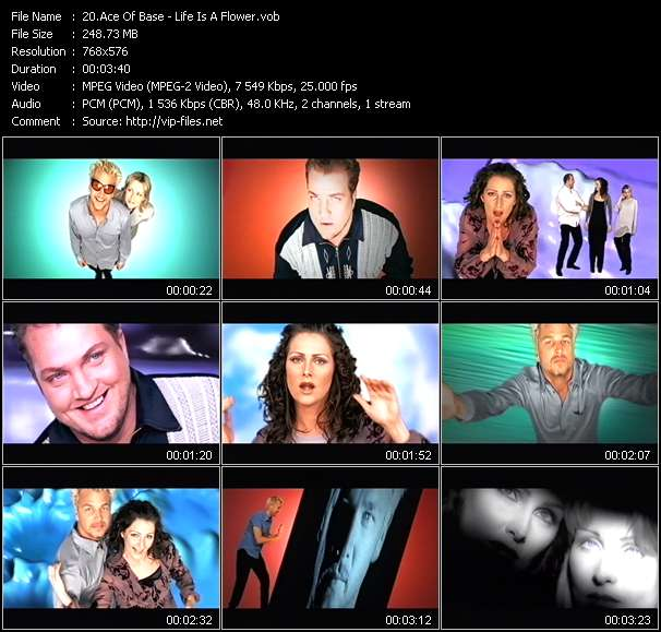 Ace Of Base video - Life Is A Flower