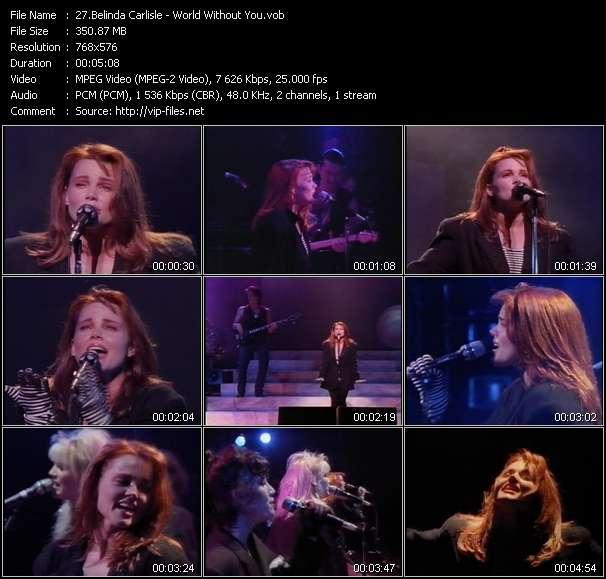 Belinda Carlisle video - World Without You