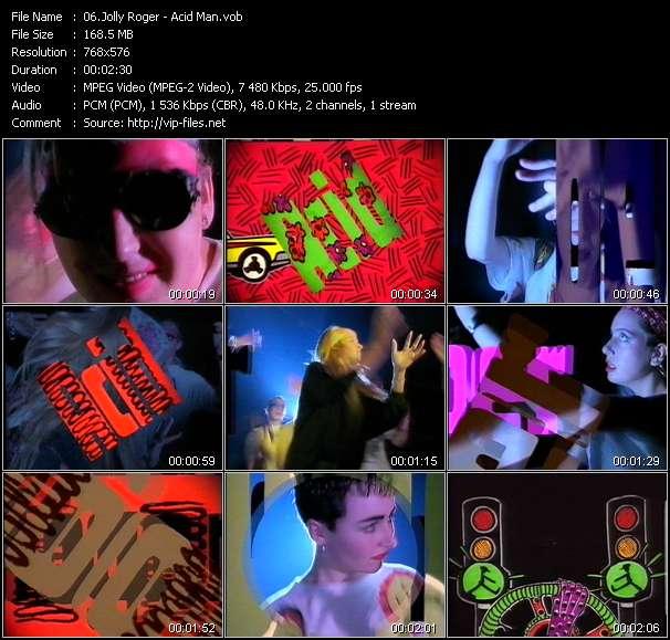 Jolly Roger video - Acid Man