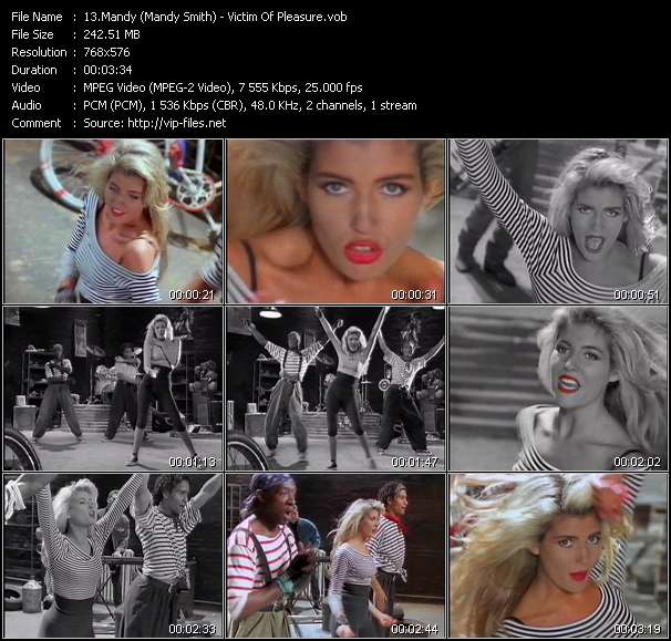 Mandy (Mandy Smith) video - Victim Of Pleasure