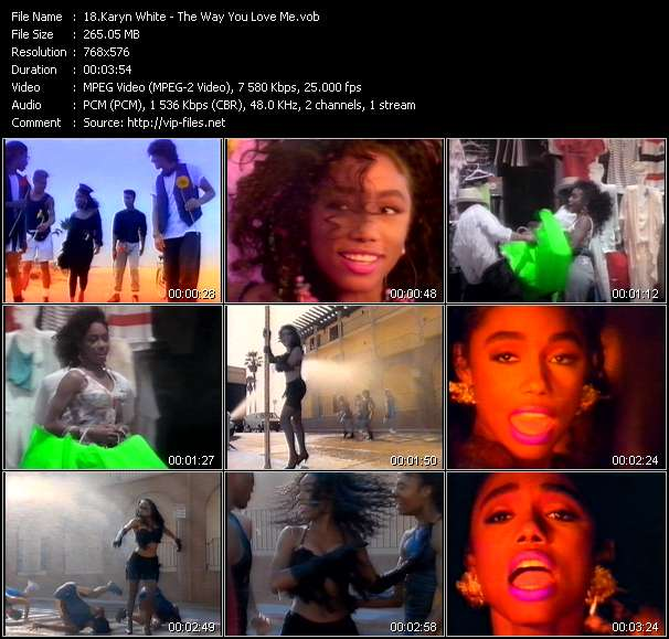 Karyn White video - The Way You Love Me