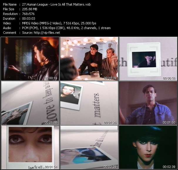 Human League music video Publish2