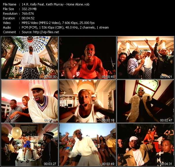 R. Kelly Feat. Keith Murray music video Publish2