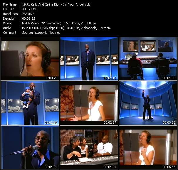R. Kelly And Celine Dion video - I'm Your Angel