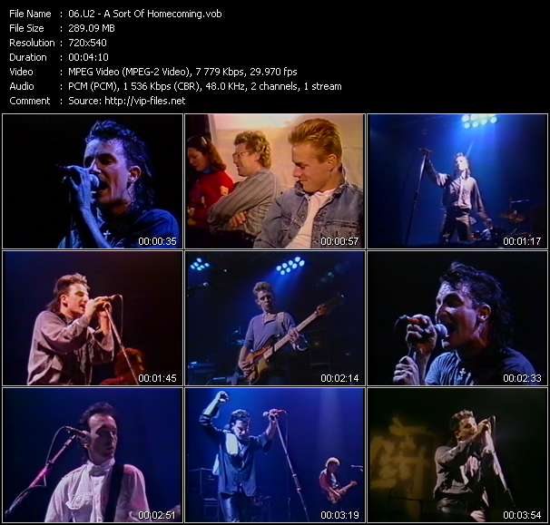 U2 HQ Videoclip «A Sort Of Homecoming»