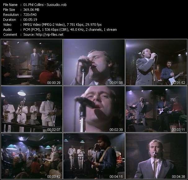 Phil Collins HQ Videoclip «Sussudio»